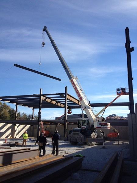 crane worksite