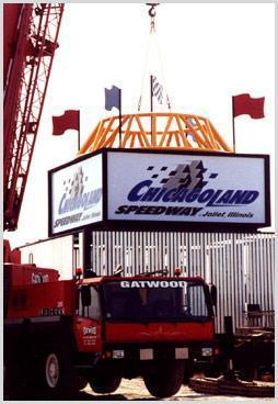 crane sign lift